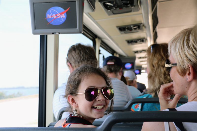 Nasa Space Center Tour Bus