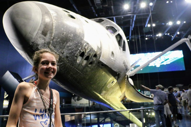 Space Shuttle Atlantis bezoeken