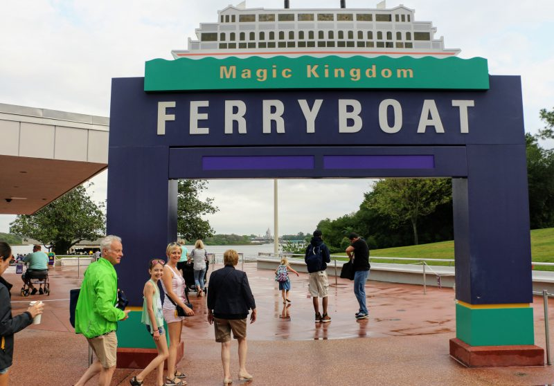 Ferryboat Magic Kingdom