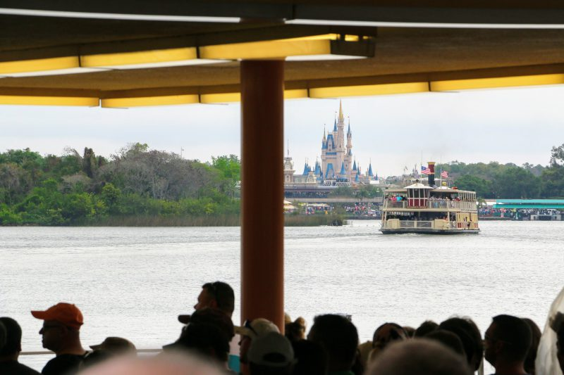 Ferryboat inkom Magic Kingdom