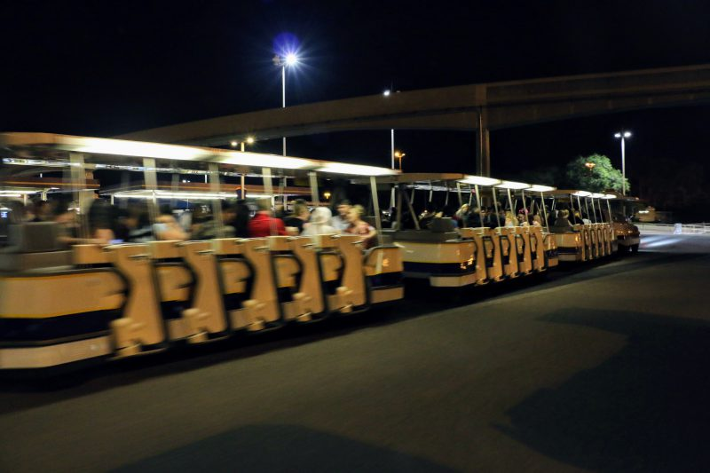 Pendelbus naar parking Disneyworld