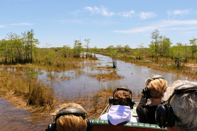 Beste locatie airboat Everglades National Park
