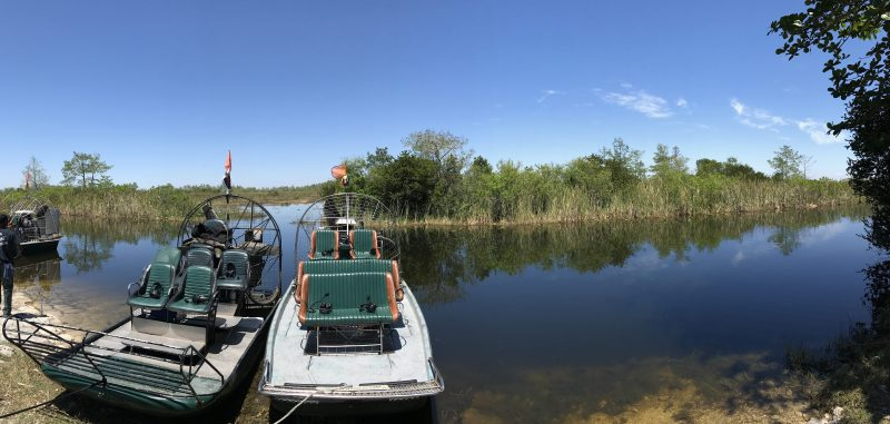 Airboat tours Everglades