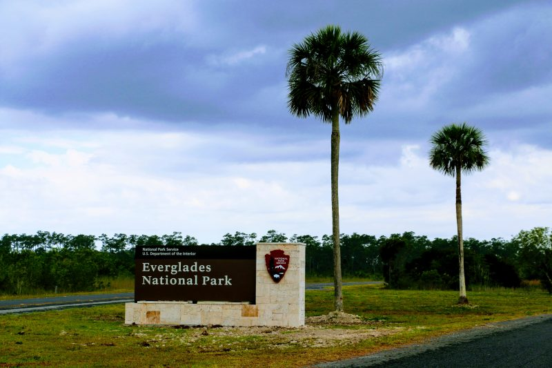 Ingang Everglades National Park