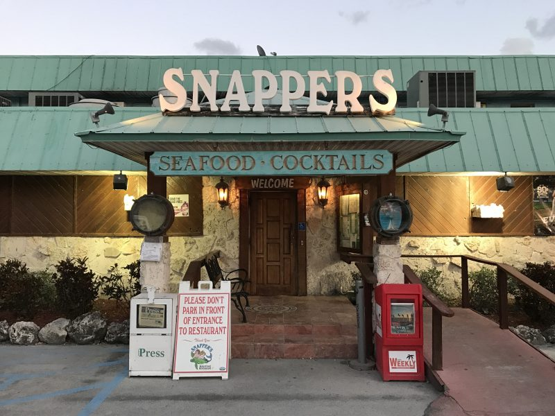 Snapper Sea Side Dining