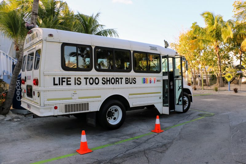 Ibis Bay Key West shuttlebus