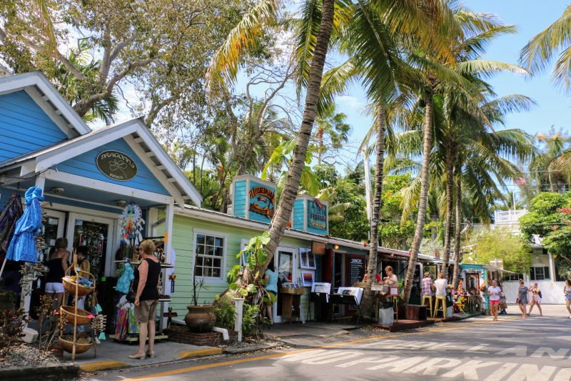 shoppen in Key West Florida