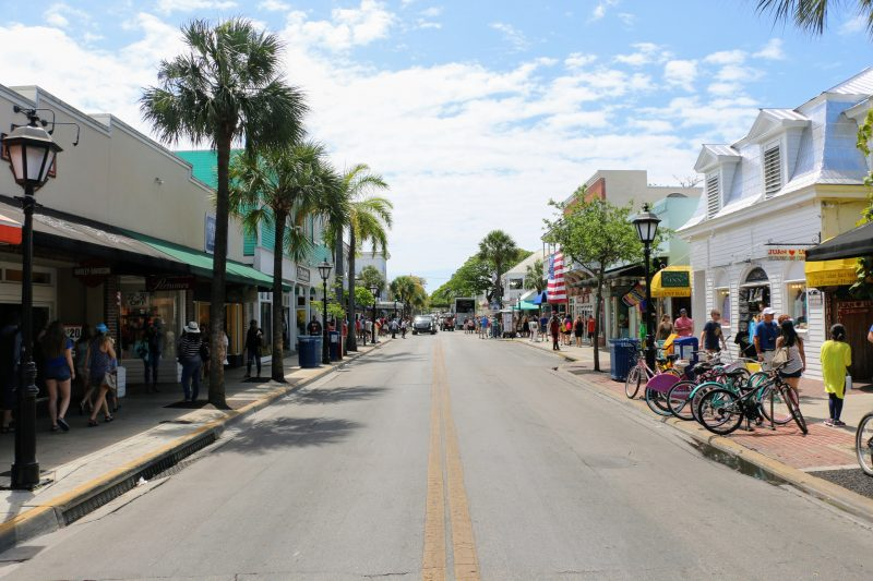 Winkelstraat Key West Florida