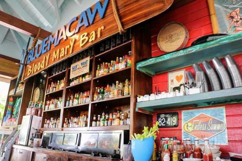 Bloody Mary Bar Key West